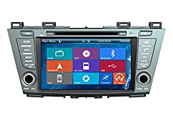 See Crusade Car DVD Player for Mazda Premacy 2010- Support 1080p,iphone 5s Usb/sd/gps/fm/am Radio 8 Inch Hd Touch Screen Stereo Navigation System+ Reverse Car Rear Camara + Free Map Details