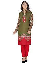 Designer Semi-Stitched Winter Woolen Suit for Women(Dress Material)