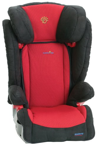 sunshine kids monterey booster car seat monterey red. Black Bedroom Furniture Sets. Home Design Ideas