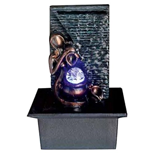 Ore International FT-1198/1L Lady Tabletop Fountain, 10-Inch