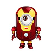 Win8Fong Despicable Me 2 Iron Man Minion PVC Edition Figure HOT New