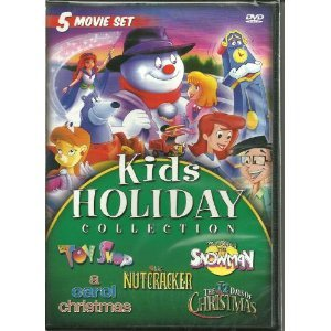 Kids Holiday Christmas Movie Collection A Carol Christmas Full Length Feature Starring Tori Spelling Animated Classics The 12 Days Of Christmas Magic Gift Of The Snowman The Toy Shop The Nutcracker