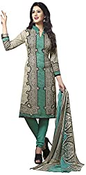 VSS Collections Women's Synthetic Unstitched Dress Material(1074,Multi-Color)