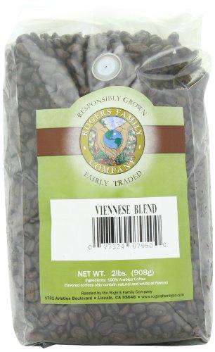 San Francisco Bay Coffee Whole Bean Viennese Blend, 32-Ounce Bag