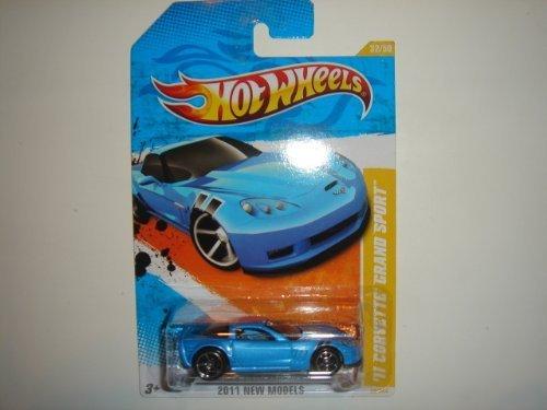 2011 Hot Wheels '11 Corvette Grand Sport Blue #32/244 - 1