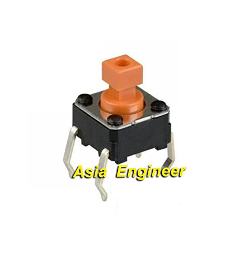 New Arrival!!! Limited Sale!!!2Pcs B3F-1055 Push Button Tactile Switch 6Mm*6Mm*7.3Mm