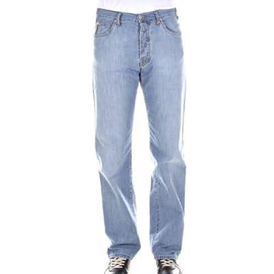Armani Jeans J07 004 straight leg super bleached denim jean SKU AJM0787