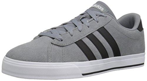 Adidas Performance Men's Daily Fashion Sneaker, Grey/Black/White, 10.5 M US