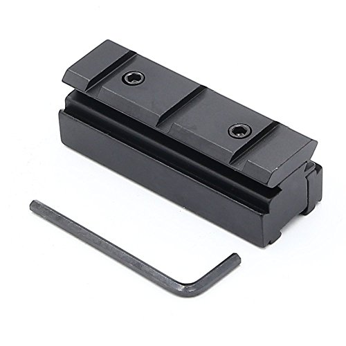 11mm Dovetail to 20mm Weaver Scope Rail Converter Adapter For Airgun or Rifle