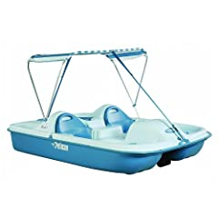 Buy Pelican Boats Flash 5-Passenger Pedal Boat by Pelican