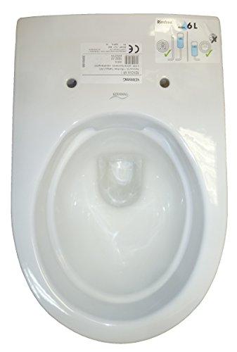 Keramag Renova Nr. 1 Wand-WC spülrandlos weiß; Tiefspül-WC