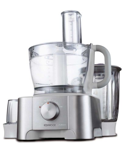 Kenwood FP920 3 Litre Multi Pro Food Processor, 1 kW, Brushed Stainless Steel by Kenwood