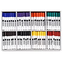 Blick Broadline Water-Based Markers - Assorted, Classroom Pack