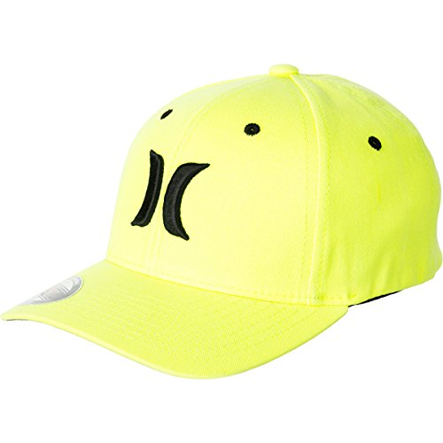 Hurley Bha0000070 Boys One And Color Hats,Neon Yellow,Os front-755435