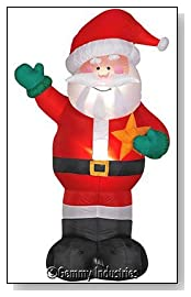 Gemmy 8 Foot blow up Santa