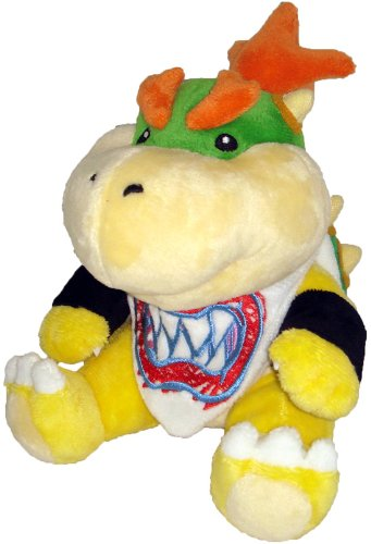 "Super Mario Plush - 7"" Bowser Jr. Soft Stuffed Plush Toy Japanese Import"