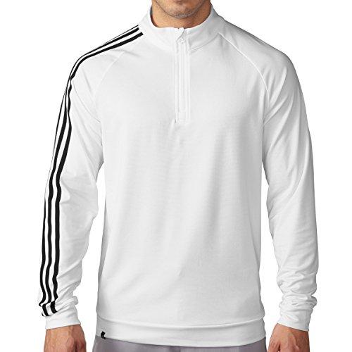 adidas -  Felpa  - Uomo Bianco bianco/nero