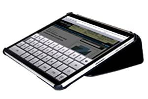 Carbon Fibre Style Typing Case for iPad