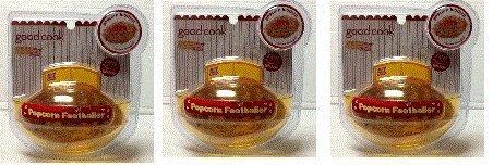 Popcorn Football Shaper ~ Make Popcorn Footballs Rice Krispie Treats & More! (3 Football Molds) by Good Cook (Popcorn Shaper compare prices)