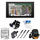 Garmin nüvi 3597LMTHD NUVI3597LMTHD 5.0-Inch Bluetooth Portable Vehicle GPS with Lifetime Map and Traffic Updates (US) MFG Part 010-01118-00 Bundle with 2 Socket Cigarette Lighter Adapter, Ultra-Compact Deluxe Carrying Case, Screen Protectors for LCD's,