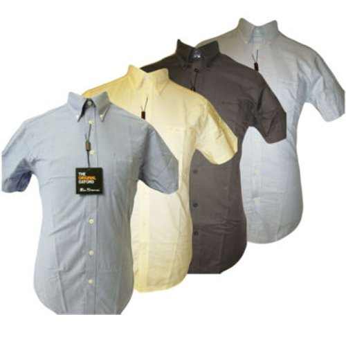(fa11) Ben Sherman Oxford Shirt Sizes XS S M L XL XXL 3XL 4XL Size=L Main Colour=Brighton Blue (1st Shirt Bottom Left)