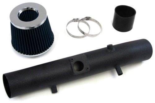 07-09 Toyota Fj Cruiser V6 4.0L Black Cool Ram Air Intake Kit W/ Blue Air Filter 08 front-548782