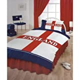 England Football Club Design Duvet/Quilt Cover Bedding Set
