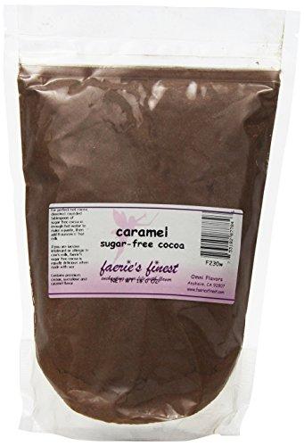 Faeries Finest Sugar-Free Cocoa, Caramel, 16 Ounce