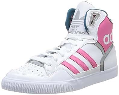 adidas m19458 womens basketball shoes multicolor ftwwht sesopk mgsogr 4 uk. Black Bedroom Furniture Sets. Home Design Ideas
