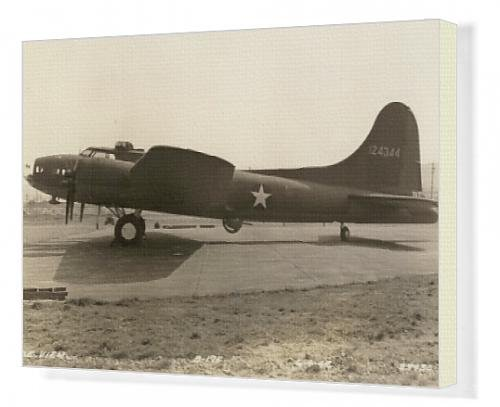 Canvas Artwork of Boeing B-17F Flying Fortress April 1942