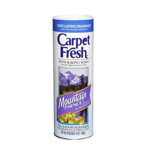 Carpet Fresh 278143 Rug and Room Deodorizer with Baking Soda, 14 oz. Mountain Essence Fragrance