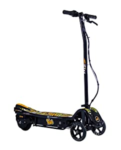 Currie E Zip Nano Electric Scooter-Black/Orange