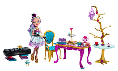 Mattel Ever After High BJH36 - Tee-tastisches Party Set, inklusive Puppe