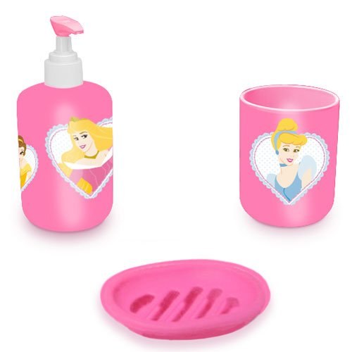 Disney Princess set of bathroom