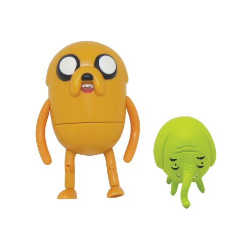 "Adventure Time Jake 3"" Action Figure with Treetrunks Accessories - 1"