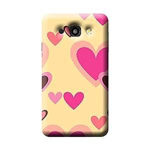 Garmor Heart Shape Design Plastic Back Cover For LG L60 X-147 (Heart Shape - 6)