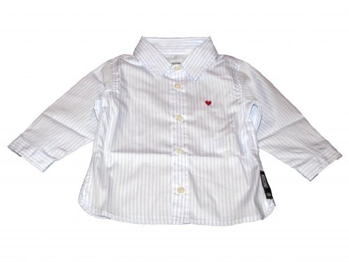 Moschino Moschino Kid Baby-Boys Striped Button Up Shirt 18-24m