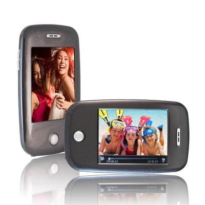 Ematic EM608VIDC 3-Inch Touch Screen 8 GB MP3 Video Player with Built-In 5 MP Digital Camera(Charcoal)