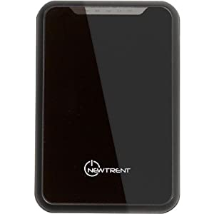 New Trent iMirror 6000mAh Heavy Duty 2A/1A Dual USB Ports External Battery Pack for the new iPad, iPad2, iPhone 5 4S 4 3Gs 3G, iPod Touch all versions, Samsung Galaxy Note, Nexus, S2, & S, HTC Sensation EVO Thunderbolt, LG Optimus V, Blackberry (Bold curve Torch), Motorola Razr & Bionic, Nokia Lumia (IMP60D Heavy Duty 5V/2A/1A high speed charger)