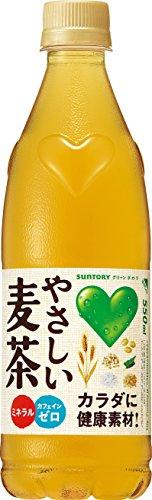 サントリー GREEN DA・KA・RA やさしい麦茶 550ml×24本