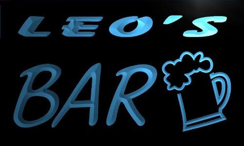 enseigne-lumineuse-pv168-b-leos-bar-beer-mug-glass-pub-neon-light-sign