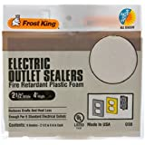 Frost King OS6H Foam Outlet Sealers