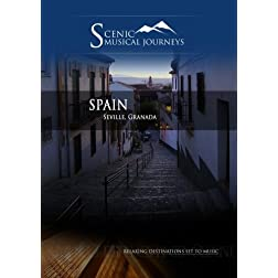 Naxos Scenic Musical Journeys Spain Seville, Granada