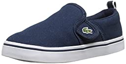 Lacoste Gazon 116 1 Slip-On (Toddler/Little Kid/Big Kid), Blue, 10 M US Toddler