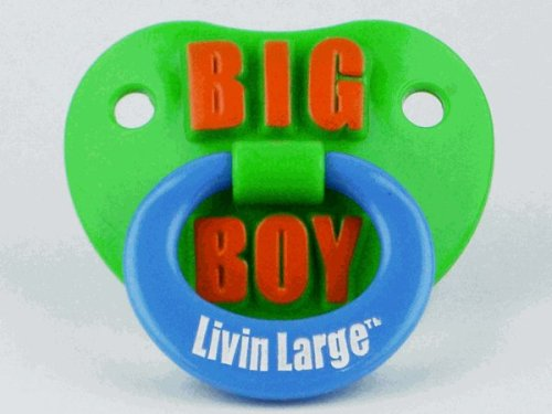Personality Pacifiers - Big Boy Livin Large front-772627