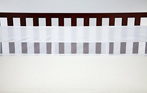 NoJo Crib Liner, White