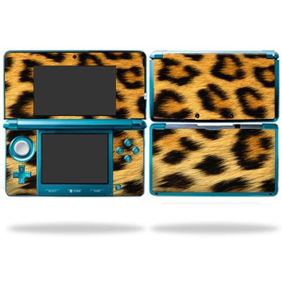 Protective Vinyl Skin Decal Cover for Nintendo 3d s sticker skins Cheetah