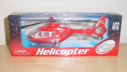 Halsalls 20cm Diecast Metal Helicopter 1:64 Scale (h149) - 1