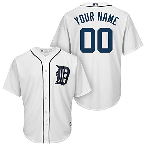 mens-detroit-tigers-white-custom-jersey-lowe-mark-size-xl