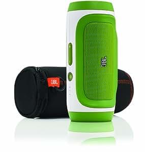 JBL Charge Portable Wireless Bluetooth Speaker (Green)